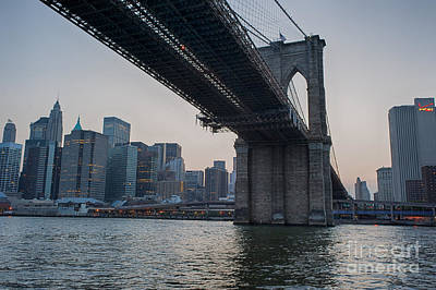 Photograph - Brooklyn Bridge by Ray Warren