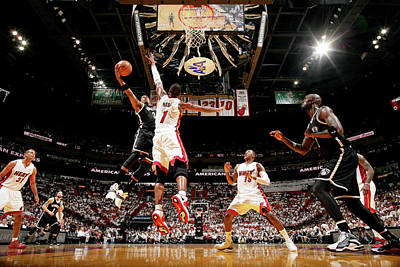 Photograph - Brooklyn Nets V Miami Heat - Game 5 by Nathaniel S. Butler