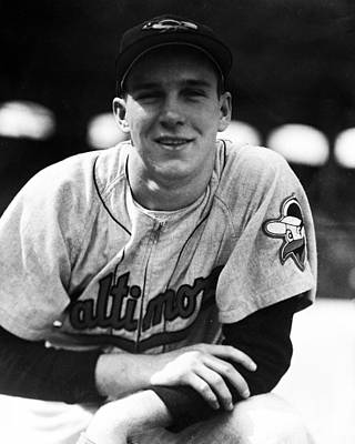 Third-oldest Photograph - Brooks Robinson by Retro Images Archive
