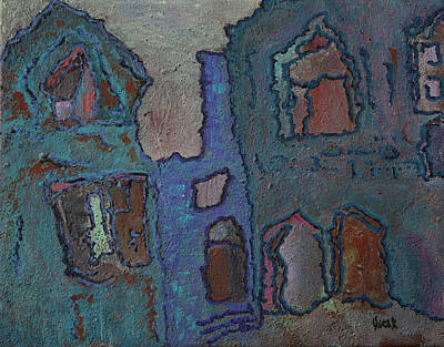 Painting - Brugge by Oscar Penalber