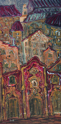 Painting - Bruma  by Oscar Penalber