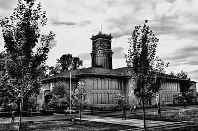 Photograph - Bryan Hall - Washington State University by David Patterson