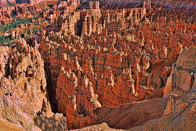 Photograph - Bryce Canyon 3 - Bryce Point by Allen Beatty