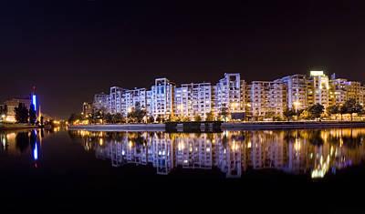 Bucharest At Night  Original