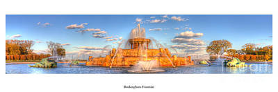 Buckingham Fountain Wall Art - Photograph - Buckingham Fountain by Twenty Two North Photography