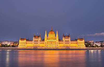 Budapest Tours Photograph - Budapest Parliament by Ioan Panaite