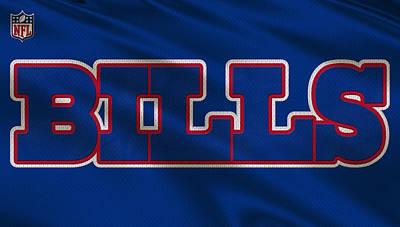 Buffalo Bills Wall Art - Photograph - Buffalo Bills Uniform by Joe Hamilton