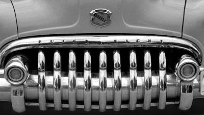 Photograph - Buick Eight by HW Kateley