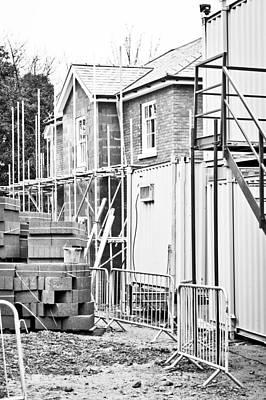 Black Commerce Photograph - Building Site by Tom Gowanlock
