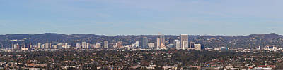 Crowd Scene Photograph - Buildings In A City, Los Angeles by Panoramic Images