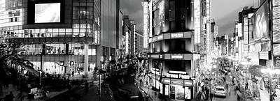 Shinjuku Photograph - Buildings Lit Up At Night, Shinjuku by Panoramic Images