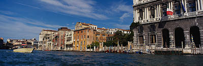 Buildings On The Waterfront, Venice Art Print by Panoramic Images