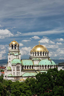 Sofia Photograph - Bulgaria, Sofia, Ploshtad Alexander by Walter Bibikow