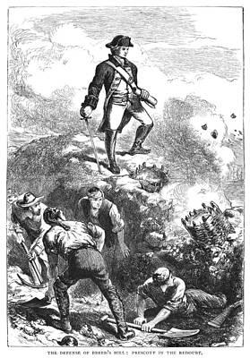 Bunker Hill, 1775 Art Print