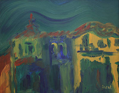 Painting - Burania by Oscar Penalber