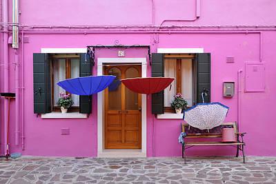 Photograph - Burano Italy by John Jacquemain