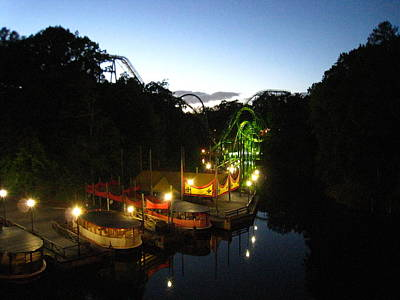 Loch Photograph - Busch Gardens - 121212 by DC Photographer