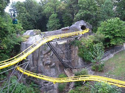 Monster Photograph - Busch Gardens - 12129 by DC Photographer