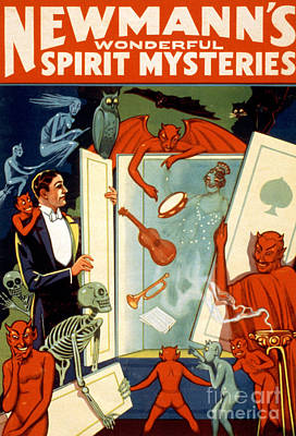C.a. George Newmann, American Hypnotist Art Print