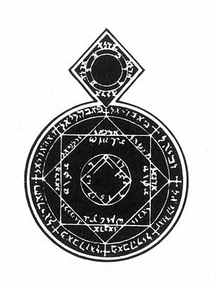 Photograph - Cabalistic Symbol by Granger
