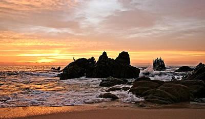 Beach Photograph - Cabo San Lucas Sunrise by Marcia Colelli
