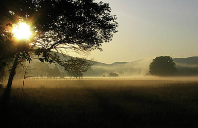 Cades Cove Sunrise II Art Print by Douglas Stucky