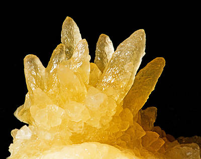 Photograph - Calcite Crystals by Millard H. Sharp