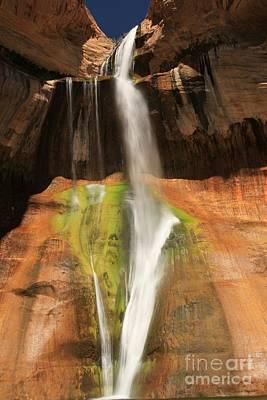 Photograph - Calf Creek Falls by Adam Jewell