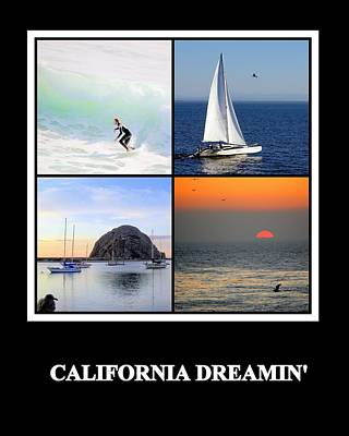 Photograph - California Dreaming by AJ  Schibig