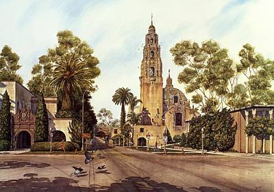 California Tower Art Print