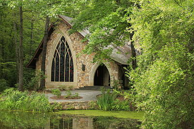 Photograph - Callaway Gardens Chapel - Pine Mountain Georgia by Mountains to the Sea Photo