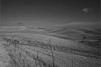 Tarquinia Landscape Campaign Art Print