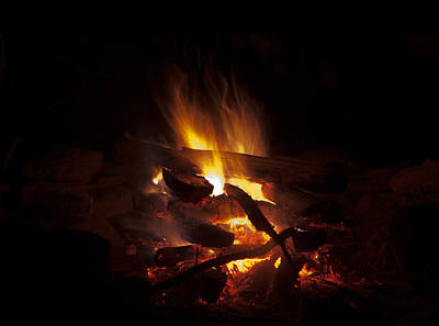 Photograph - Campfire by John Stephens