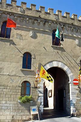 Campiglia Marittima, Livorno Province Art Print