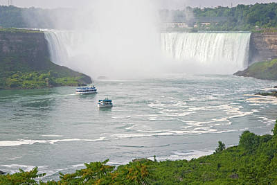 Fall Of River Photograph - Canada, Ontario, Niagara Falls by Jaynes Gallery