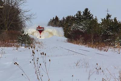 Canadian Pacific Snow Plow Art Print