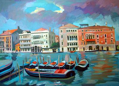 Grande Painting - Canal Grande by Filip Mihail