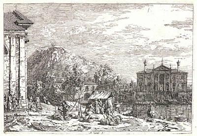 Canaletto Aka Antonio Canale Italian Art Print