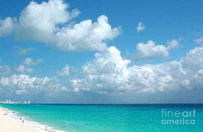 Photograph - Cancun Beach by Charline Xia