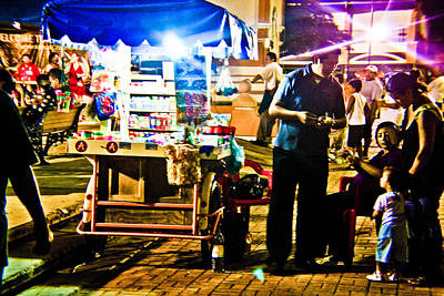 Photograph - Candy Cart by Norchel Maye Camacho