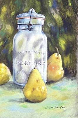 Painting - Canned Pears  by Claude Schneider
