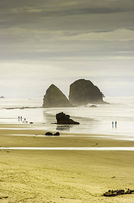 Whimsically Poetic Photographs - Cannon Beach  by Frank Pali