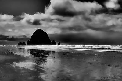 Cannon Beach - Oregon Print by David Patterson