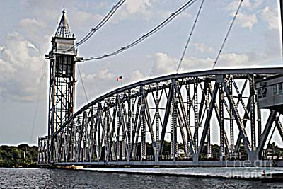 Photograph - Cape Cod Canal Train Bridge by Spirit Baker