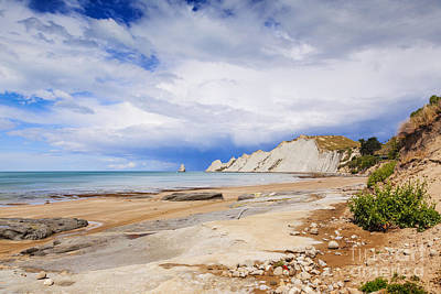 Hawkes Bay Photograph - Cape Kidnappers Hawkes Bay New Zealand by Colin and Linda McKie