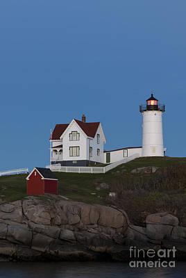 Cape Neddick Lighthouse Art Print by John Shaw