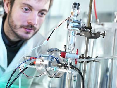 Carbon Capture Research Art Print