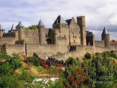 Carcassonne Photograph - Carcassonne France by Sophie Vigneault
