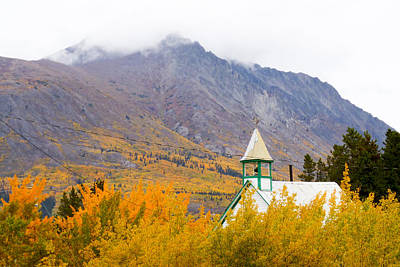 Photograph - Carcross Church by David Nichols