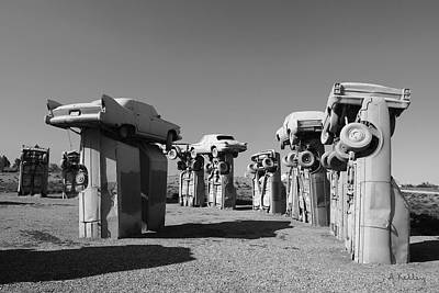 Photograph - Carhenge by Andrea Kelley